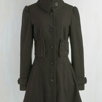 Military, French Long Long Sleeve The Importance of Being Forest Coat