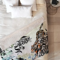 Aimee St Hill Tiger Tiger Fleece Throw Blanket