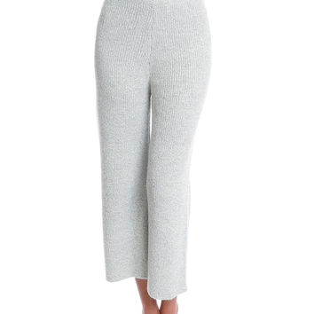 Gray Day Obsession Knit Pants