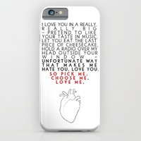 Grey's Anatomy - Pick Me, Choose Me, Love Me.  iPhone & iPod Case by FrankieD