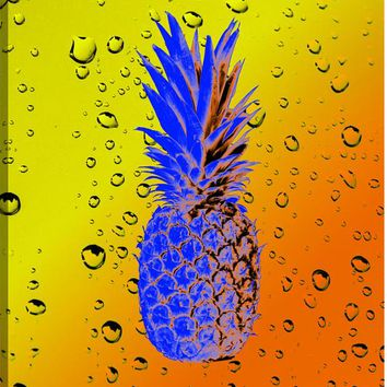 Pineapple Vision III Canvas Wall Art Print