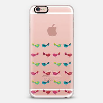 little birds transparent iPhone 6s case by Sharon Turner   Casetify
