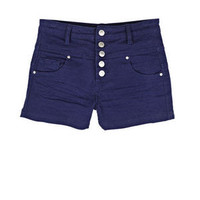 Skylar High Waist Cobalt Short