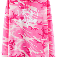VFILES SHOP | PINK CAMO SKATEGOAT HOODIE by @Thrasher