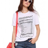 Overdressed Graphic Tee Shirt