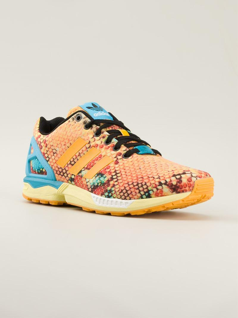 Adidas  ZX Flux Python  sneakers from farfetch d51a3d9cb
