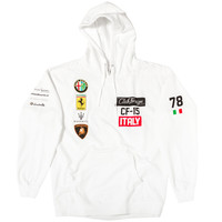 """Club Foreign Italy Series Hoodie """"White"""""""