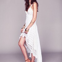 Free People Alissa's Limited Edition White Story Dress
