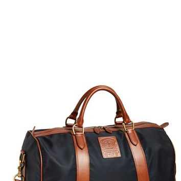 Men's Polo Ralph Lauren Nylon & Leather Duffel Bag
