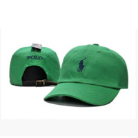Green Polo Embroidered Baseball Caps Hat