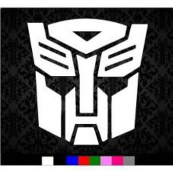 Transformers Autobot Logo Car Sticker Vinyl Wall Decal