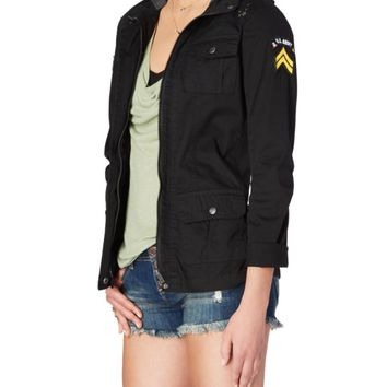 Hooded Military Utility Jacket | Anorak & Twill Jackets | rue21