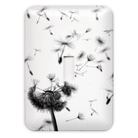 Dandelion Light Switch Plate Cover