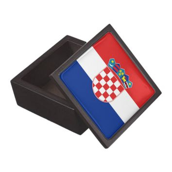 Croatian Flag Premium Gift Box
