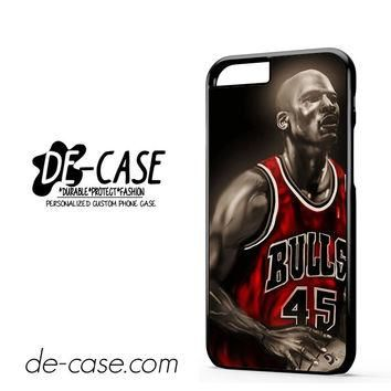 Michael Jordan Poster DEAL-7162 Apple Phonecase Cover For Iphone 6 / 6S