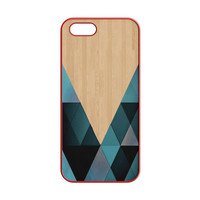 wooden geometric iPhone 5 | 5S Case