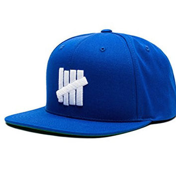 Undefeated 5 Strike Snapback In Royal Blue Size O/S