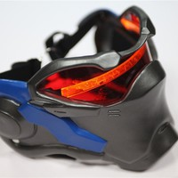 Newest Game Overwatch Hero SOLDIER: 76 Special luminous Mask Cosplay Props (Color: Black)