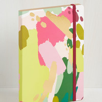 Artful Acknowledgement Notebook | Mod Retro Vintage Desk Accessories | ModCloth.com