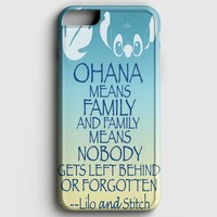 Ohana Means Family Lilo And Stitch iPhone 6 Plus/6S Plus Case
