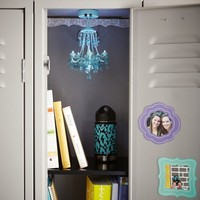 Locker Chandelier, Crystals