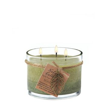 Serenity Glass Candle Jar