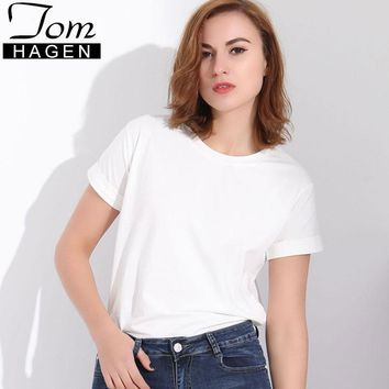 Tom Hagen Summer Clothes Woman Tee Shirt 2018 Female Top Best Friend T Shirt for Women Poleras De Mujer T-shirts Cotton Tshirts