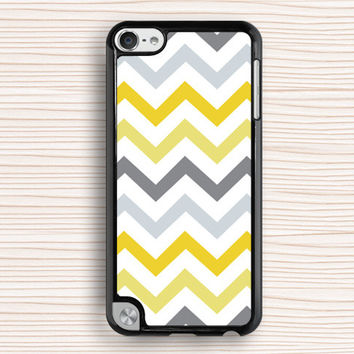 yellow chevron ipod case,yellow chevron ipod 4 case,ipod 4 case,yellow chevron cover,yellow stripe case,V-shaped case,fashion design case,father's gift,mother's gift,friend's gift,christmas present,best seller case,contracted design case