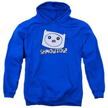 Adventure Time Shmowzow Licensed Adult Hoodie