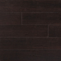 "CFSFlooring Strand Woven 5"" Solid Bamboo Hardwood Flooring in Python Brown"