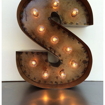 custom illuminated steel marquee letters numbers and symbols
