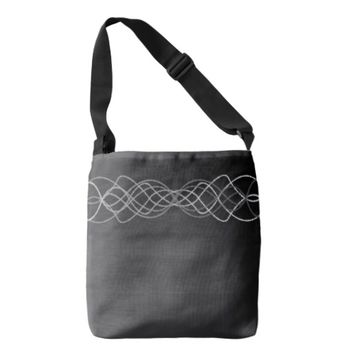 Silver Lights Tote Bag