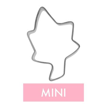 Mini Leaf Cookie Cutter