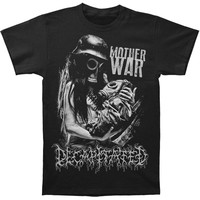 Decapitated Men's  Mother War T-shirt Black Rockabilia