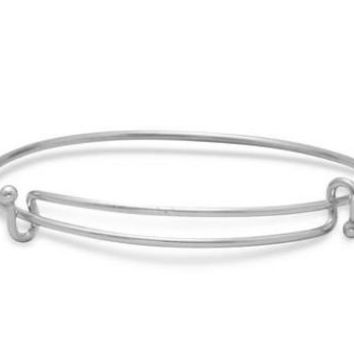 Double Hook Expandable Wire Bangle