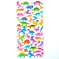 Dinosaur Stickers Kawaii Stickers Cute Sticker Planner Stickers Shiny Stickers Bubble Sticker