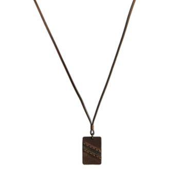 Diesel Acegi Necklace - Brown