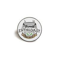 Burrito Enthusiast Enamel Pin