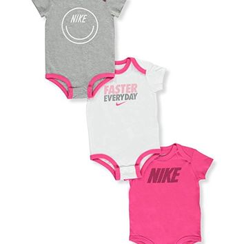 Baby Girls' 3-Pack Bodysuits