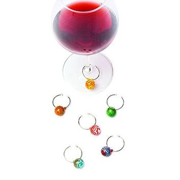 WineO Silicone Wine Charms by True