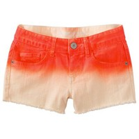 Mossimo Supply Co. Juniors Ombre Frayed Denim Shorts - Assorted Colors