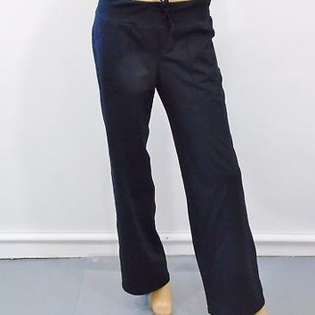 Nordstrom ZELLA Wide Leg Black Casual Training Workout Yoga Pants Size 6