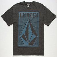 Volcom Pill Mens T-Shirt Heather Black  In Sizes
