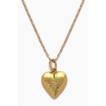 The Locket Necklace - Gold