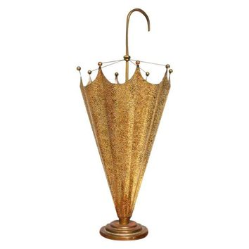 Pre-owned Vintage Brass Umbrella Stand