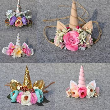 Children Unicorn Flower 0134