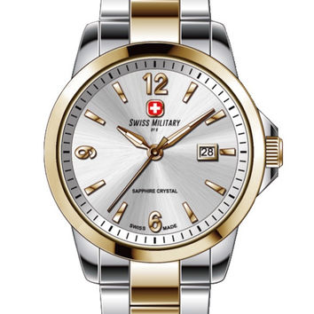 Swiss Military by R 54006 357J A Alpha Women's Watch Two-Tone Stainless Steel