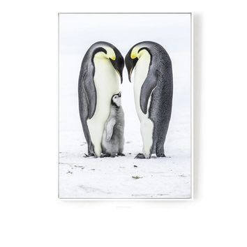 Penguin 48.4'' Mural Painting