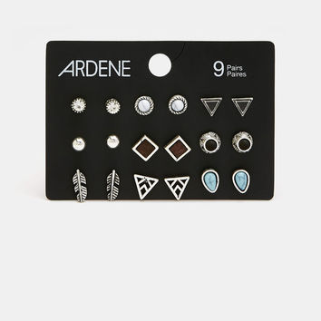 Pack of 6 Pairs of Assorted Earrings - Accessories | Ardene