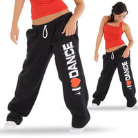 I Love Dance Sweatpants : GAR-170